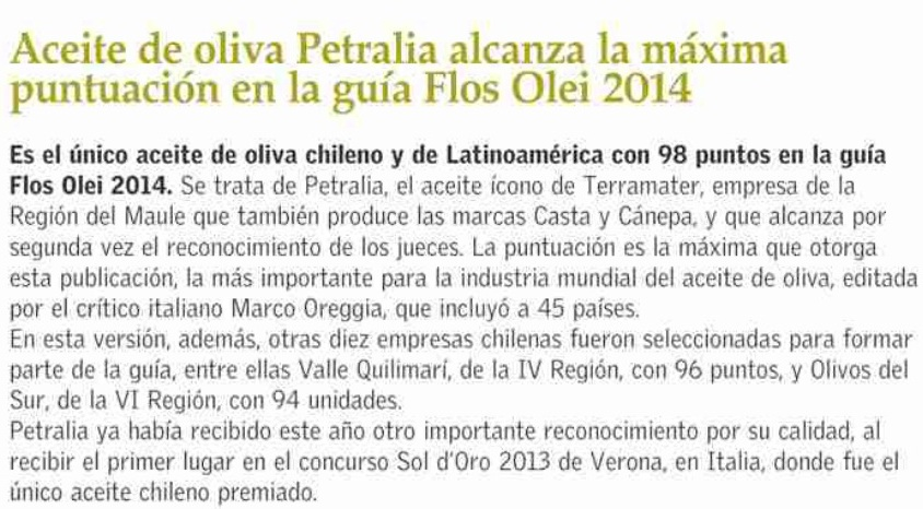 aceite de oliva petralia