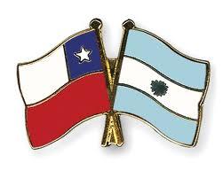 bandera Chile Argentina