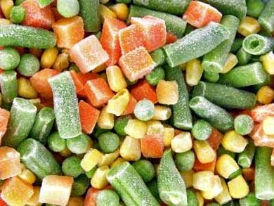 congelado hortalizas