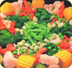 hortalizas congeladas