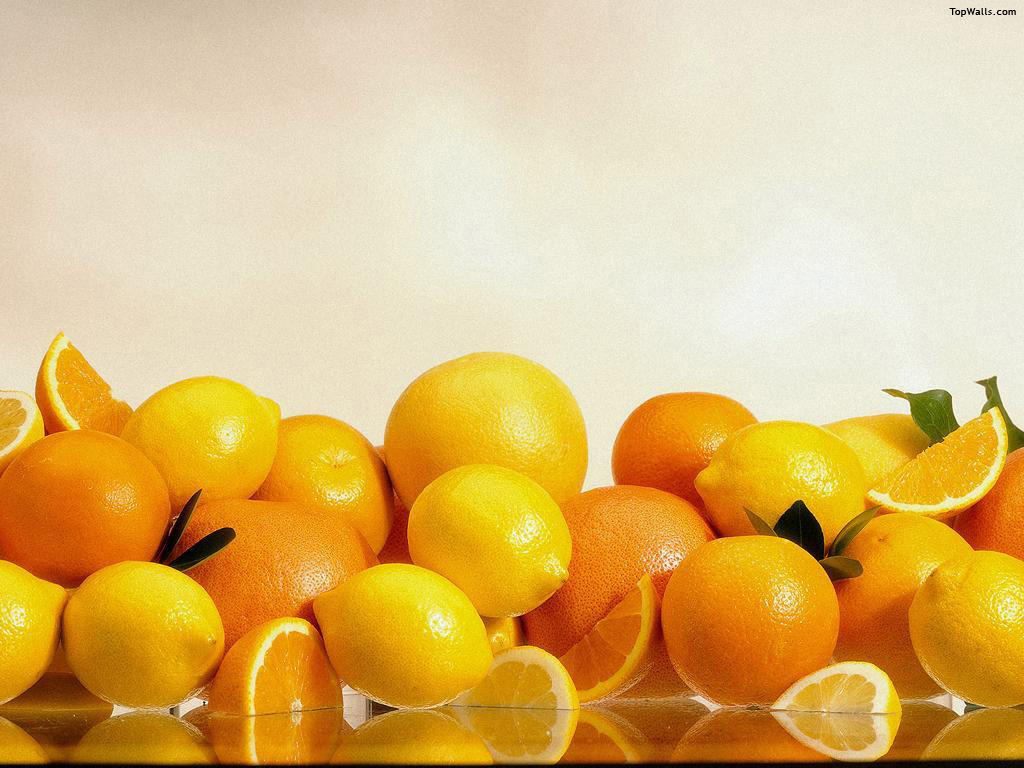 naranjas limones