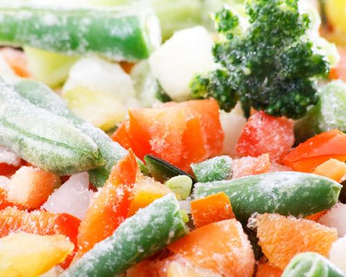 verdura congelada -z