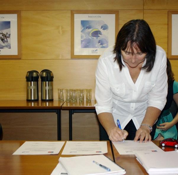 Representante Odepa Pilar Eguillor