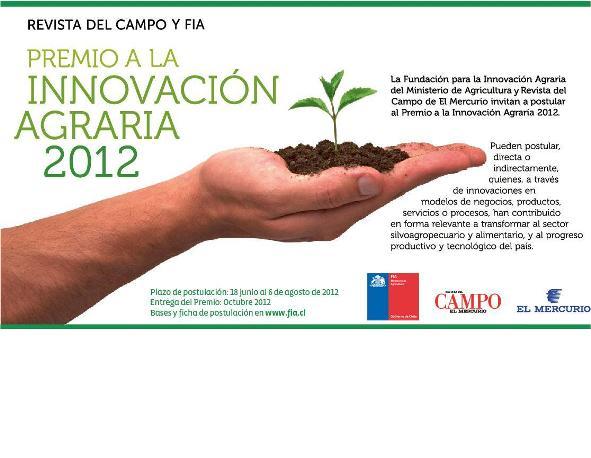 premio Innovacion agraria