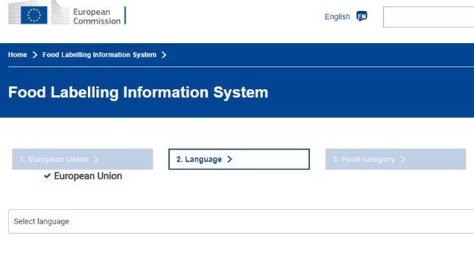 Unión Europea: nuevo sistema on-line muestra información sobre etiquetado de alimentos