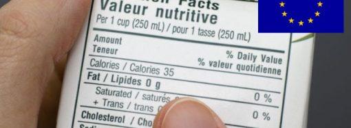 Unión Europea: hoja de ruta para revisión de etiquetado de los alimentos