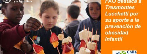 """FAO destaca el aporte de Tresmontes Lucchetti a través del programa """"Escuela Saludable"""" en la prevención de Obesidad Infantil"""