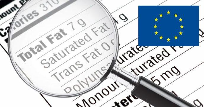 Unión Europea: nueva legislación no permitirá sobrepasar los 2 gramos por cada 100 gramos de grasas trans en alimentos a partir del 2 de abril 2021