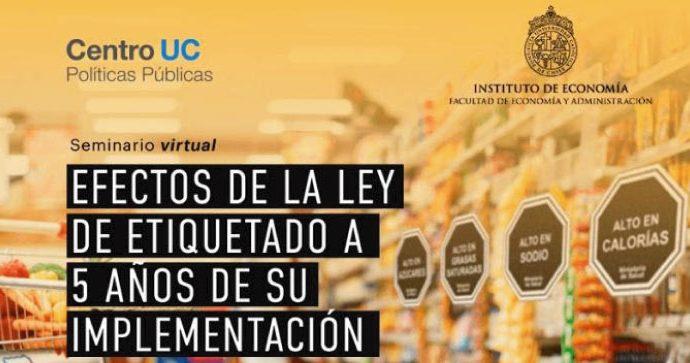 Seminario virtual Efectos de la ley de etiquetado a 5 años de su implementación