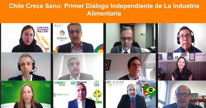 Chile Crece Sano realizó exitoso Diálogo Independiente de La Industria Alimentaria para Food Systems Summit 2021